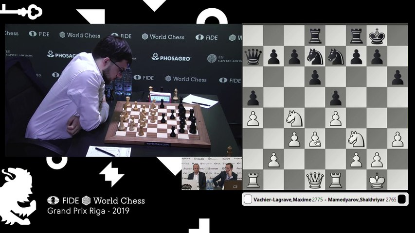 Grand Prix FIDE Riga 2019 Final Game 2