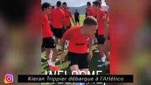Kieran Trippier débarque à l'Athletico - C'est l'heure du bizutage pour Weah à Lille