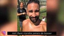 Dani Alvez fait copain-copain avec le singe - Depay se donne du mal à Lyon