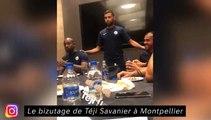 Le bizutage de Téji Savanier à Montpellier - Les Lyonnais sont en plein Tour de France