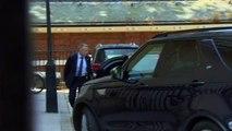 Jeremy Hunt returns home after Tory leadership defeat
