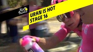 Uran a chaud / Uran is hot - Étape 16 / Stage 16 - Tour de France 2019