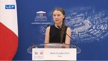 Urgence climatique : Greta Thunberg à l´Assemblée nationale
