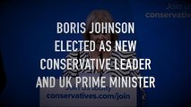 Boris Elected as Tory Leader and PM