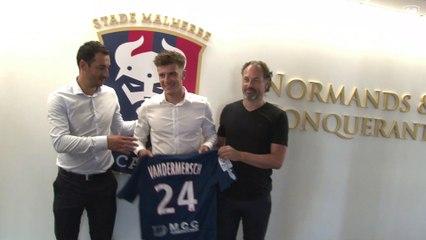 Premier contrat professionnel pour Hugo Vandermersch