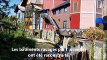 Quatier scandinave d'Europa Park reconstruit
