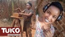The Ugandan Girl who makes bricks to pay university fees