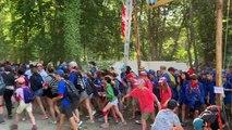 20 000 jeunes scouts  à Jambville