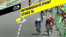 Sprint intermédiaire / Intermediate sprint - Étape 16 / Stage 16 - Tour de France 2019