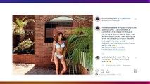 Iris Mittenaere sublime en bikini, elle dévoile la personne secrète qui l'accompagne en vacances