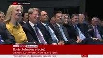 Boris Johnson Elected Next UK Prime Minister