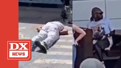 Future's Bodyguard Knocked Out By Sucker Punch During Airport Confrontation
