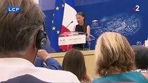 """Greta Thunberg à l'Assemblée nationale : """"L'urgence climatique et écologique c'est maintenant !"""""""