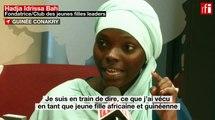 Hadja Idrissa Bah, militante guinéenne contre l'excision