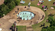 UK basks in heatwave as temperatures reach 33 degrees