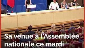 A l'Assemblée, la militante écolo Greta Thunberg répond à ses détracteurs