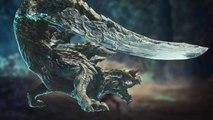Monster Hunter World: Iceborne - Gameplay Acidic Glavenus