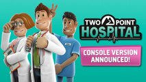 Two Point Hospital - Trailer consoles