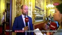 Loïc Hervé réagit à la venue de Greta Thunberg au Parlement