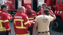 """Portugal sufre con """"angustia"""" los incendios en el centro del país"""