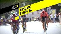 Résumé - Étape 16 - Tour de France 2019