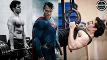 Henry Cavill training Body for Superman and Justice League