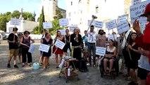 Avignon : une marche pour le climat décalée