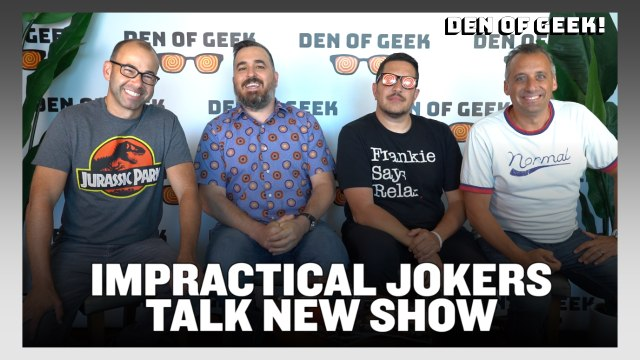 Interview With Impractical Jokers' James Murray, Joe Gatto, Sal Vulcano, and Brian Quinn | SDCC 2019