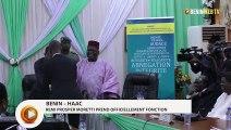 Bénin – Haac 6è mandature : Remi Prosper Moretti prend officiellement fonction
