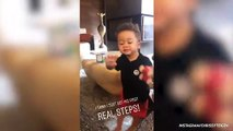 Chrissy Teigen and John Legend's Son Miles Just Took His First Steps and They Caught It All on Video!