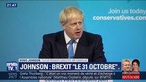 """Le futur Premier ministre britannique Boris Johnson promet que le Brexit """"sera mis en oeuvre"""" le 31 octobre prochain"""