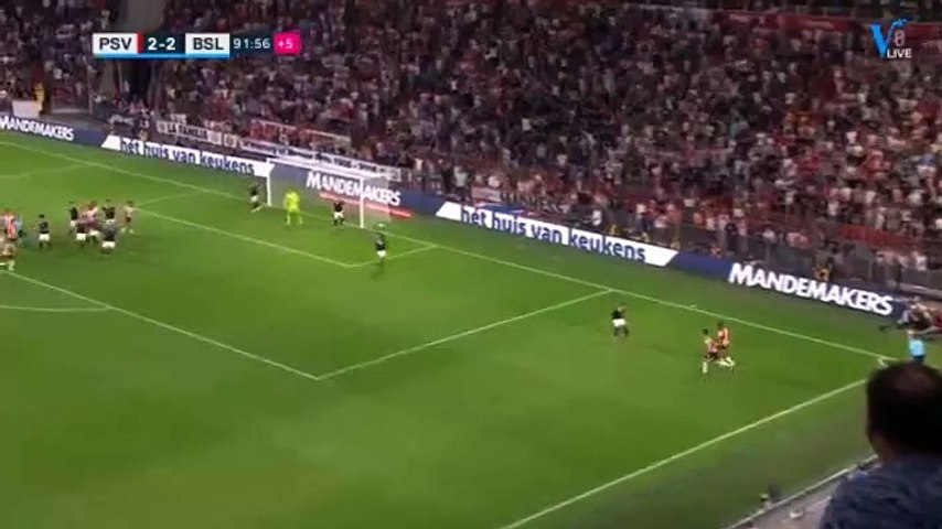 Donyell Malen Goal HD - PSV (Ned)3-2Basel (Sui) 23.07.2019