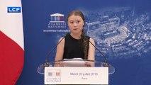 Greta Thunberg répond avec ironie aux députés qui ont boycotté sa venue à l'Assemblée