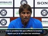 """Inter - Conte s'attend à """"beaucoup d'émotion"""" contre la Juve"""