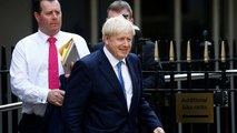 European leaders congratulate Johnson but warn of challenging times ahead