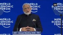 WEF  2018  -  Data Is Real Wealth, Says PM Modi