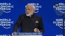 WEF 2018  -  Globalisation Is Losing Its Shine - PM Modi