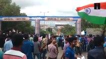 India vs New Zealand 3rd T20 -  People Throng Stadium In Thiruvananthapuram Despite Rain Threat