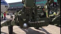 First Few Visuals Of Arrival Of M 777 ULH