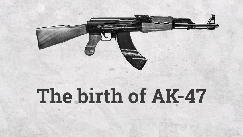 The origin on AK-47