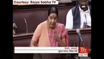 Will Go Out Of The Way To Save India's Son Kulbhushan Jadhav -  Sushma Swaraj