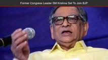 Former External Affairs Minister & Ex-Congress Leader SM Krishna Set To Join BJP