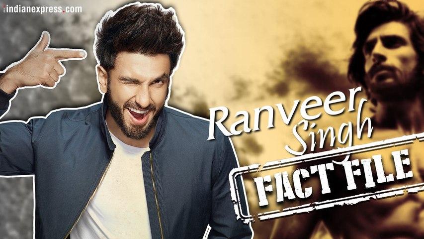 Lesser known facts | Ranveer Singh
