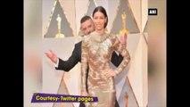 Oscars 2017 -  Justin Timberlake Hilariously Photo-Bombs Wife Jessica Biel