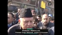 J&K -  Mufti Sayeed Allied With Communal Forces And People Won't Tolerate It Says Farooq Abdullah