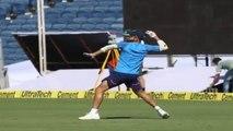 Watch Virat Kohli Practice Taking Catches