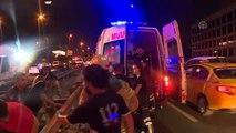 Şişli'de trafik kazası: 4 yaralı