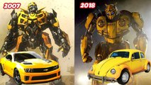 Bumblebee Cast Before And After 2018