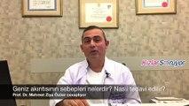 Prof. Dr. Mehmet Ziya Özüer – Geniz Akıntısı neden olur, nasıl tedavi edilir?