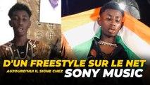 D'un Freestyle sur le net Aujourd'hui il signe Chez Sony Music...
